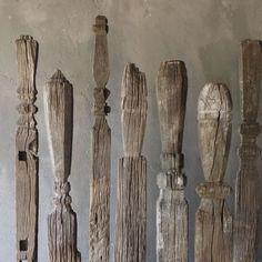 artpropelled:  Ironwood house markers