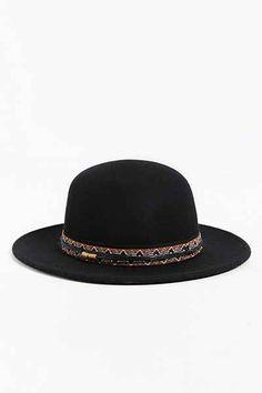 Rosin Round Crown Fedora Hat