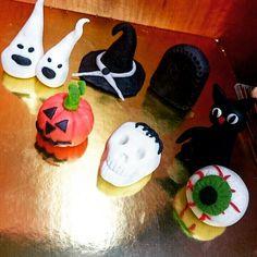 Halloween marcipán figurák