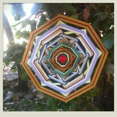 Tree mandala Gods Eye, Eyes, Tutorials