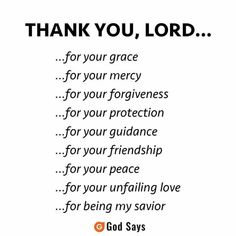 Thank you, Lord Prayer Verses, Faith Prayer, Prayer Quotes, Bible Verses Quotes, Spiritual Quotes, Faith Quotes, Positive Quotes, Me Quotes, Scriptures