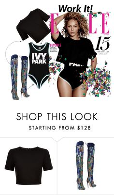 """IVY Park"" by prettysexiness ❤ liked on Polyvore featuring Ted Baker, Dsquared2 and Ivy Park"