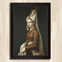 Madame de Pompadour (Portrait Mihrimah, Daughter of Sultan Suleiman the. Italian Renaissance, Renaissance Art, Renaissance Portraits, Historical Costume, Historical Clothing, Women In History, Art History, Ancient History, World History