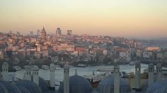 Istanbul Golden Horn Landscape from Suleymaniye
