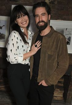 Pin for Later: Nicola Roberts and Daisy Lowe Raise the Roof at the POPSUGAR x ShopStyle Party Daisy Lowe and Jack Guinness