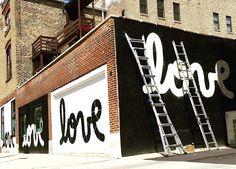 Matthew Hoffman spreading LOVE around Chicago, 8/15 (LP)