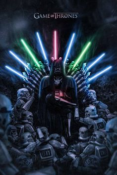 #star wars x #game of thrones