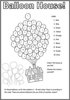English Activities For Kids, English Worksheets For Kids, English Lessons For Kids, Kids Math Worksheets, Kids Learning Activities, Number Worksheets, Printable Worksheets For Kids, Coloring Worksheets, Listening Activities