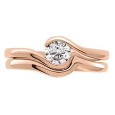 Tension Set Diamond Ring - Round brilliant cut diamond with a semi tension twist setting available in platinum, white gold, rose gold and yellow gold Engagement Rings Round, Round Diamond Ring, Brilliant Diamond, Gold Ring, Dublin, White Gold, Rose Gold, Jewelry, Jewlery