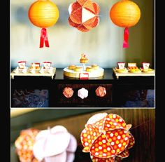 Chinese new year or lunar new year party printables and party supplies