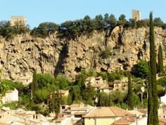 Cotignac, small french village in the Green Provence, southern #France