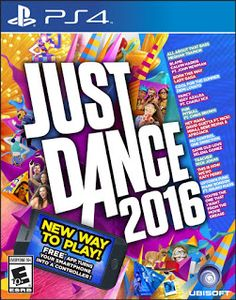 Just Dance 2016 Just Dance 2016 features an amazing track list with visuals that are more creative and breathtaking than ever before. You can use one of three options to play Just Dance 2016: the Playstation Camera, the Playstation Move, or the Controller App through your smartphone. If you have the camera you don't need …