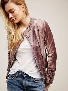 Lacey Velvet Jacket