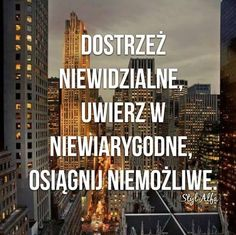 To co dzis wydaje ci sie niemozliwe kiedys bedzie twoja warm-up Funny Quotes, Life Quotes, Powerful Words, In My Feelings, Better Life, Love Life, Motto, Wise Words, Quotations