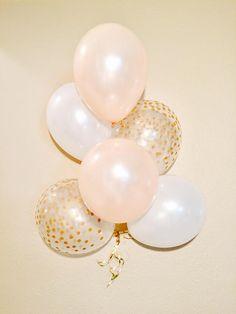Pearl Peach Latex Balloons Neutral Wedding Peach Balloons