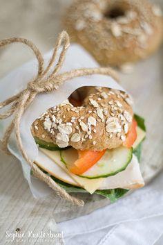 Whole Grain Bagels - Gesunde Snacks