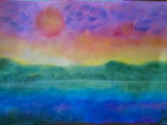 Landscape from rainbow - 11 age