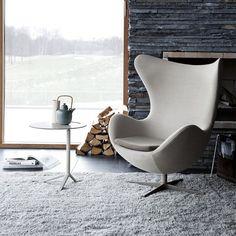 Designer: Arne Jacobsen #EggChair