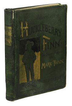 Adventures of Huckleberry Finn ~ MARK TWAIN ~ First Edition ~ 1st State ~ 1885.