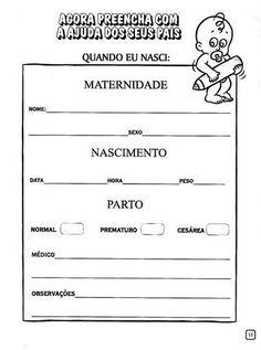 IDENTIDADE ATIVIDADES   Cantinho do Educador Infantil