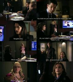 Criminal Minds- I remember this scene from watching the episode, and it was just to funny!