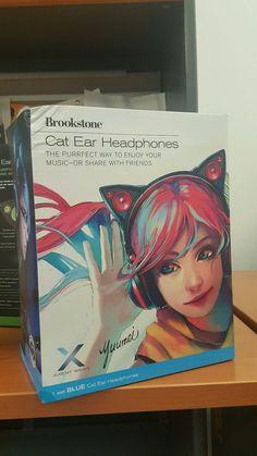 Cat Ear Headphones #Brookstone