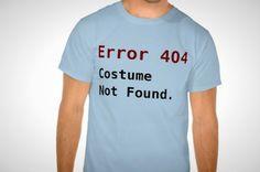 Error 404. Costume not found.