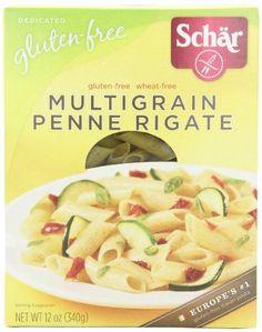 Schar Multigrain Penne Regate, Gluten Free, 12-Ounce Boxes (Pack of 5)