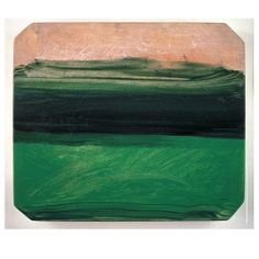 """I have a white wall waiting to be united with this painting! """"Evening"""" by Howard Hodgkin Abstract Expressionism, Abstract Art, Howard Hodgkin, Classic Artwork, Glasgow School Of Art, Color Studies, High Art, Museum Of Modern Art, Landscape Art"""