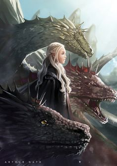 The mother of dragons lost one of her children. Mah hart mah sole