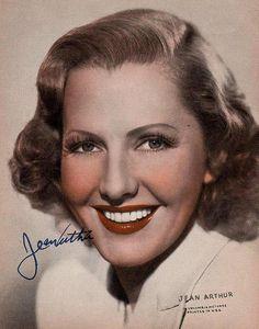 Jean Arthur (17/10/1900 - 19/6/1991) Age: 90