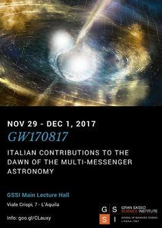 LAquila workshop sul futuro dellastronomia e delle onde gravitazionali
