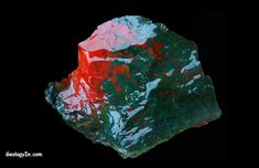 Bloodstone is a cryptocrystalline quartz.
