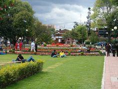 Parque de la 93, Bogotá Colombia