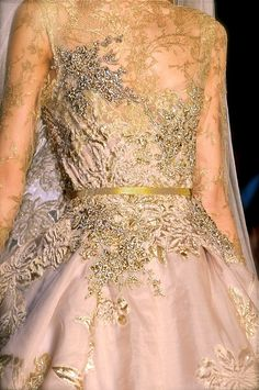 Elie Saab Couture F/W 2012  #wedding #fashion #dress #style  I truly adore Elie