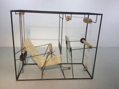 Joep van Lieshout/AVL: Loom for the New Tribal Labyrinth at Grimm Gallery Amsterdam