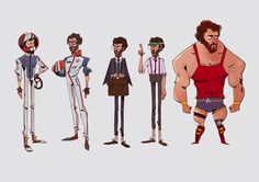 Characters | S.T.E.A.K.