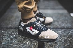 """The North Face x ASICS GEL-Lyte III """"The Apex"""" カスタマイズスニーカー"""