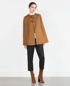 HAND MADE CAPE-Outerwear-WOMAN-SALE | ZARA United States