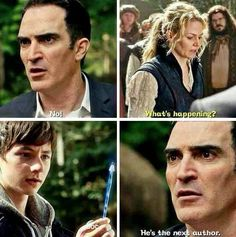 Henry is the new author ^^ He was the hero of the episode #OnceUponATime #HeroesAndVillains