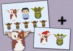 Gremlins parody - Cross Stitch PDF pattern