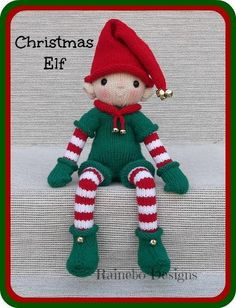 (6) Name: 'Knitting : Knit Christmas Elf