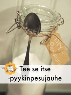 Tee itse pyykinpesujauheesi! Homemade Beauty, Better Life, Keep It Cleaner, Barware, Diy And Crafts, Life Hacks, Household, Cleaning, Cosmetics