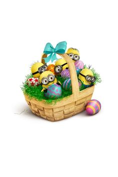 Easter Basket Minions