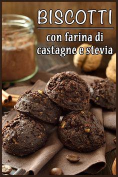 Sweet Recipes, Cake Recipes, Dessert Recipes, Desserts, Stevia, Biscotti Cookies, Biscotti Sani, Oat Muffins, Cake & Co