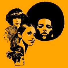 Picture of Headshots Of Women With Retro Hairstyles. Stock Photo by Creatas from the collection Creatas. Get affordable Stock Photos at Thinkstock. Afro Pick, 1970s Hairstyles, Disco Party, Beauty Shop, Back In The Day, Pop Culture, Stock Photos, Hair Styles, Fictional Characters