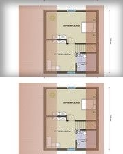 SENDOM.PL - Producent domów drewnianych Kiosk Design, Floor Plans, Wooden Houses, Interior Design, Ideas, Log Projects, Timber Homes, Nest Design, Log Home