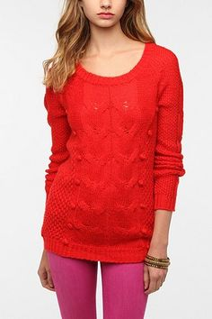 Pins and Needles Bobble Knit Sweater  http://www.urbanoutfitters.com/urban/catalog/productdetail.jsp?id=25812470=SALE_STOCKUP#