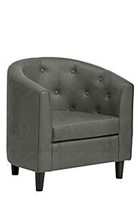 LINCOLN BUTTON TUB CHAIR #mrpyourhome