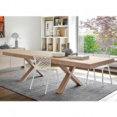 Two Table By Calligaris   Fully Extended Http://www.nuastyle.com